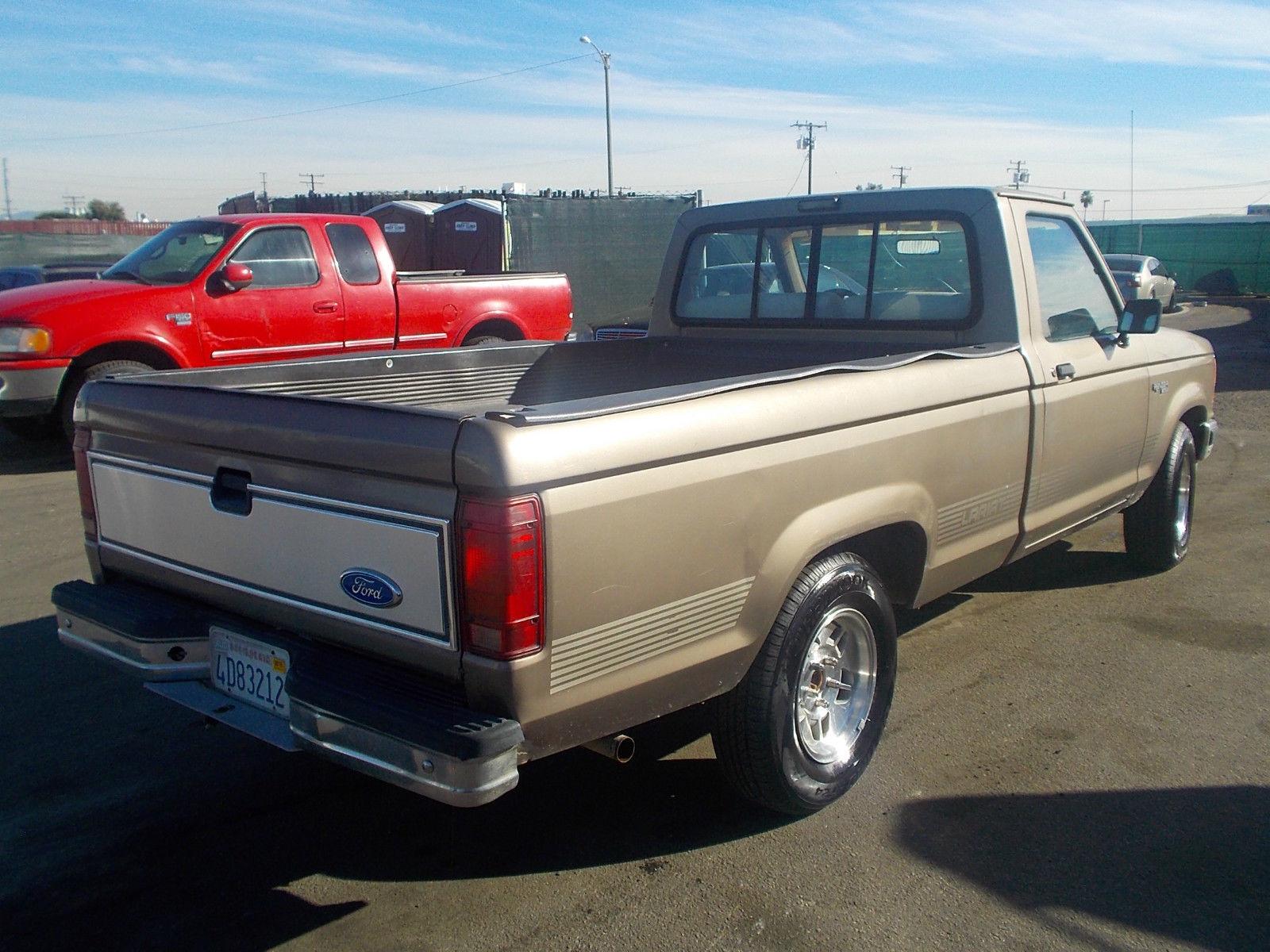 1990 ford ranger xlt standard cab pickup 2 door 2 3l no reserve classic ford ranger 1990 for sale. Black Bedroom Furniture Sets. Home Design Ideas