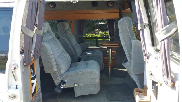 Gmc Conversion Van >> 1990 GMC VANDURA 2500 CONVERSION VAN WHITE - Classic GMC ...