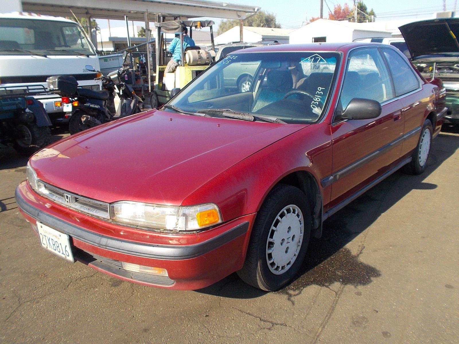 1990 honda accord lx coupe 2 door 2 2l no reserve classic honda accord 1990 for sale. Black Bedroom Furniture Sets. Home Design Ideas