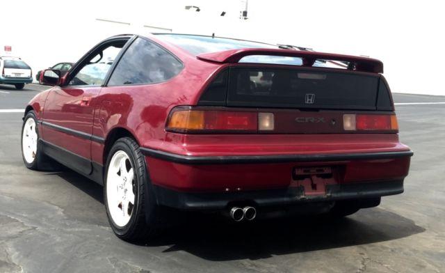 Cars For Sale Los Angeles >> 1990 Honda CRX SIR B16A LSD RHD JDM - Classic Honda CRX 1980 for sale