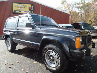 1990 Jeep Cherokee 2-door Pioneer 4x4 & 1990 Jeep Cherokee 2-door 4x4 Pioneer 4.0L 4-speed auto Low miles ...