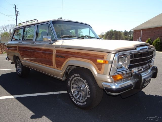 1990 jeep grand cherokee wagoneer 4x4 southern vehicle classic jeep wagoneer 1990 for sale. Black Bedroom Furniture Sets. Home Design Ideas