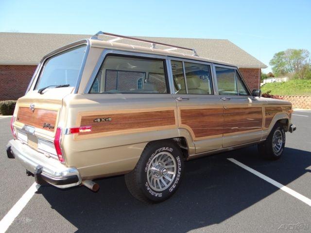 1990 Jeep Grand Cherokee Wagoneer 4x4 Southern Vehicle