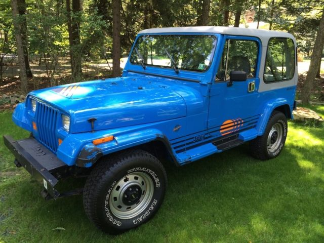 1990 Jeep Wrangler Islander Edition Great Condition All
