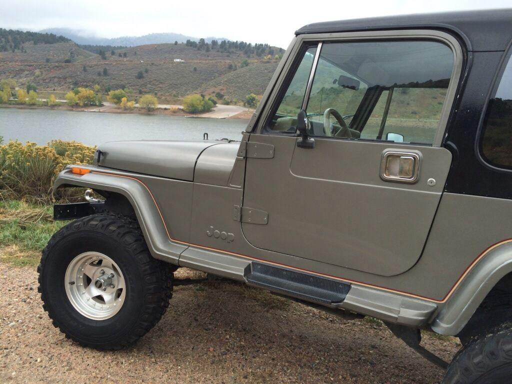 1990 jeep wrangler sahara sport utility 2 door 4 2l classic jeep wrangler 1990 for sale. Black Bedroom Furniture Sets. Home Design Ideas