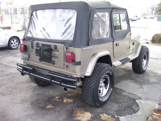 1990 jeep wrangler yj 4x4 sahara sharp classic jeep wrangler 1990 for sale. Black Bedroom Furniture Sets. Home Design Ideas