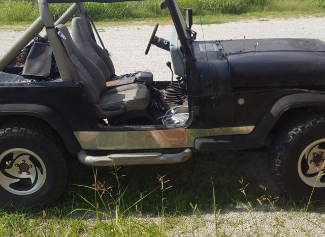 1990 jeep wrangler yj 5 spd 4cyl 2 5l 4wd for parts or repair classic jeep wrangler 1990 for sale. Black Bedroom Furniture Sets. Home Design Ideas
