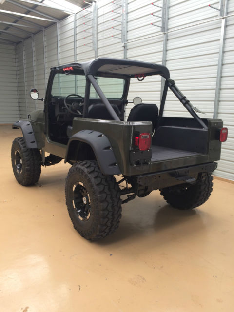 1990 Jeep Wrangler Yj With 9 Inch Of Lift Frame Off All