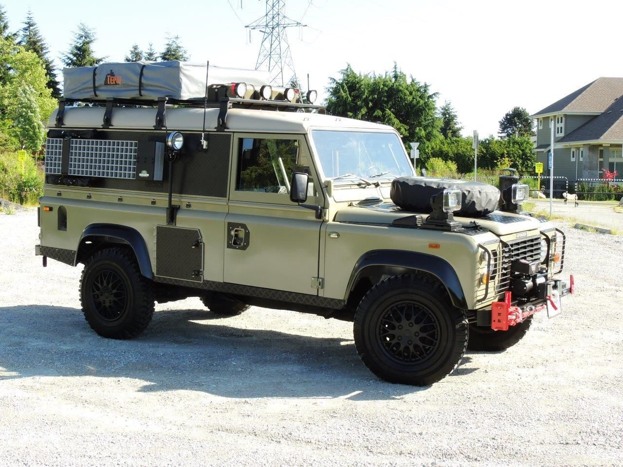 1990 Land Rover Defender 110 Expedition Overland Classic
