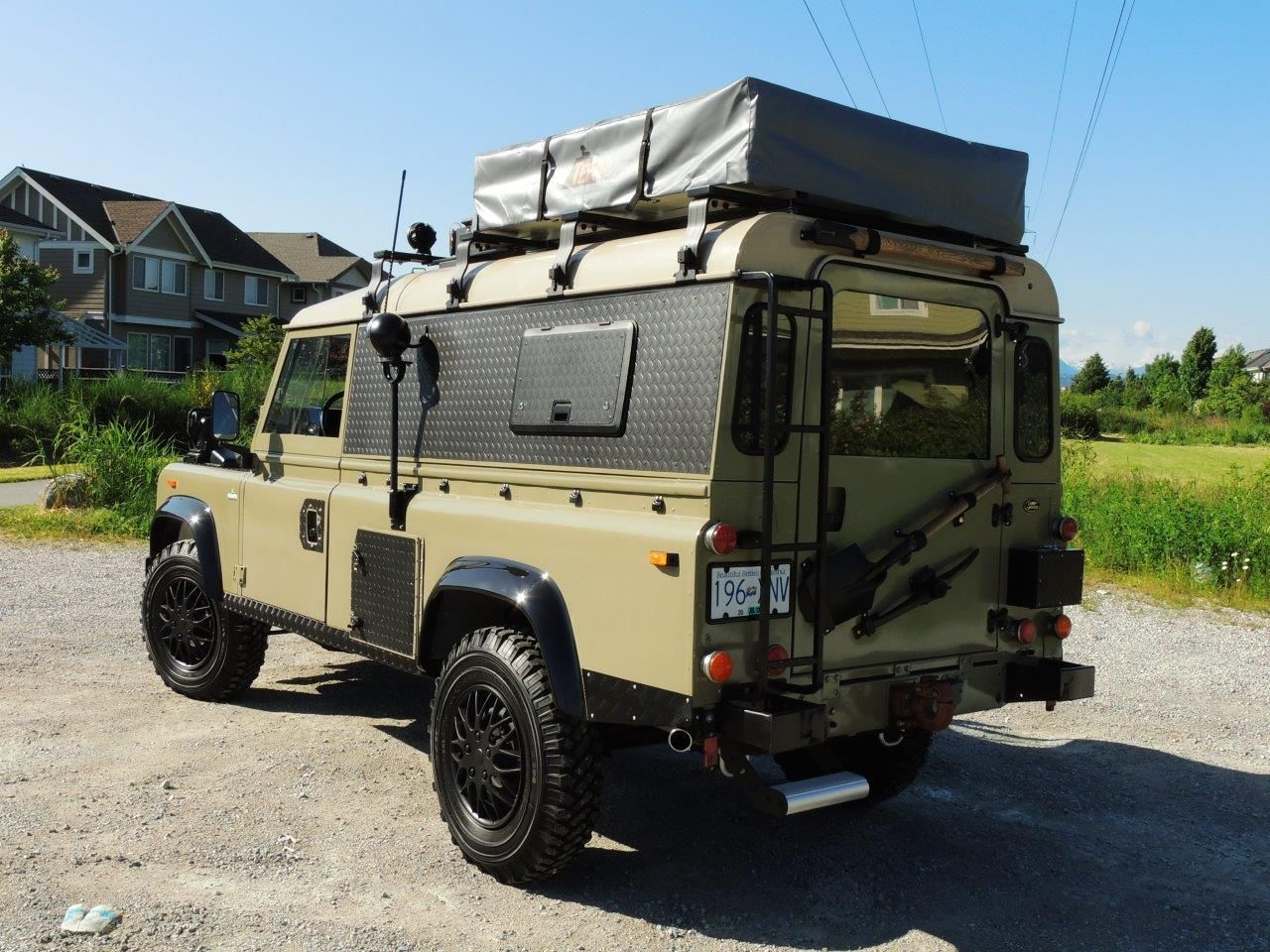 1990 land rover defender 110 expedition overland classic land rover defender 1990 for sale. Black Bedroom Furniture Sets. Home Design Ideas