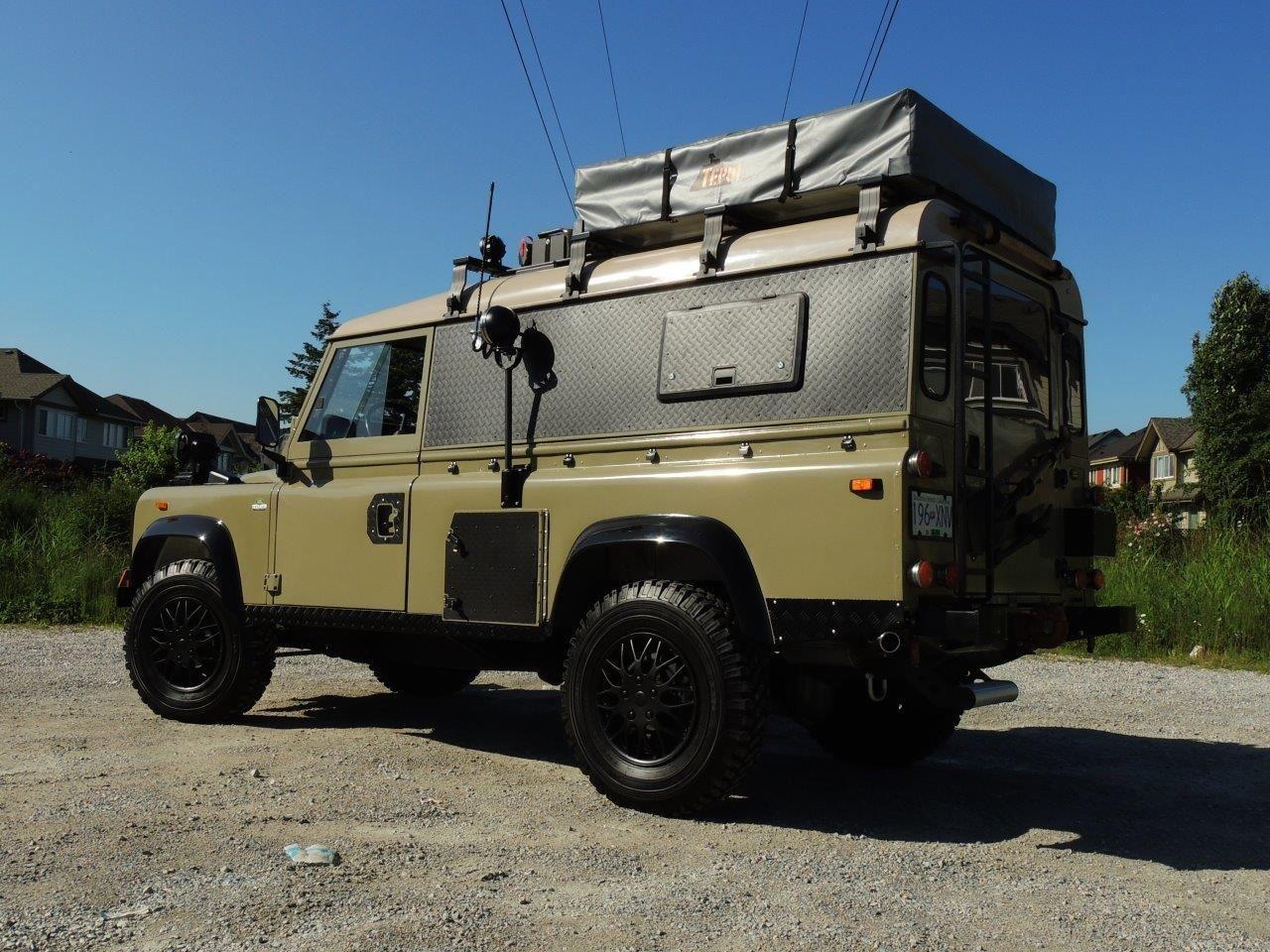 1990 land rover defender 110 expedition overland classic. Black Bedroom Furniture Sets. Home Design Ideas