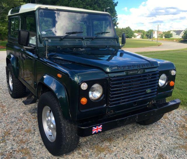 Land Rover Defender For Sale Nc: 1990 LAND ROVER DEFENDER 90