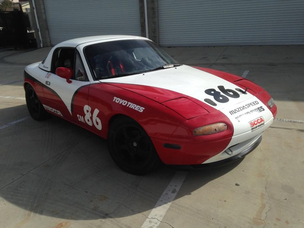 Mazda Sm Spec Miata Track And Race Car