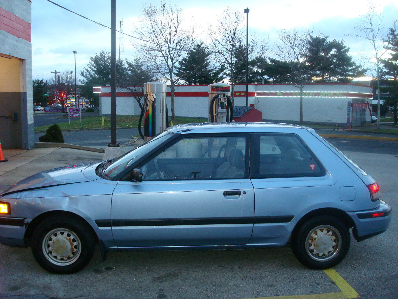 1990 Mazda 323 Base Hatchback 2-Door 1.6L..27,500 ORIGINAL ...