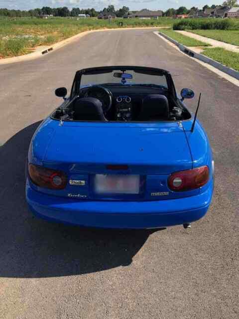 1990 Mazda Miata Convertible Blue Rwd Manual Manual Guide