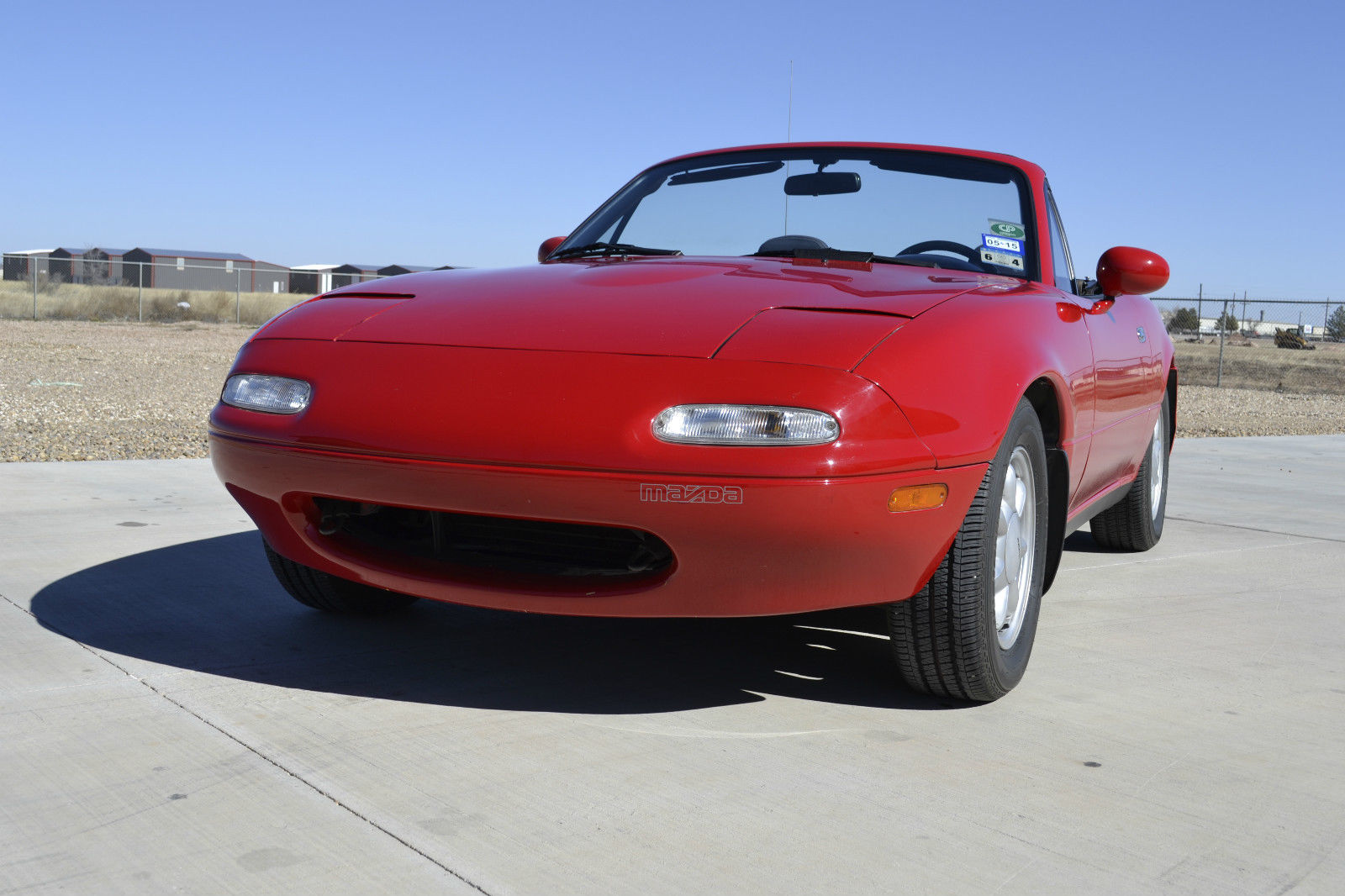 1990 mazda miata mx5 5 speed w hardtop low miles. Black Bedroom Furniture Sets. Home Design Ideas