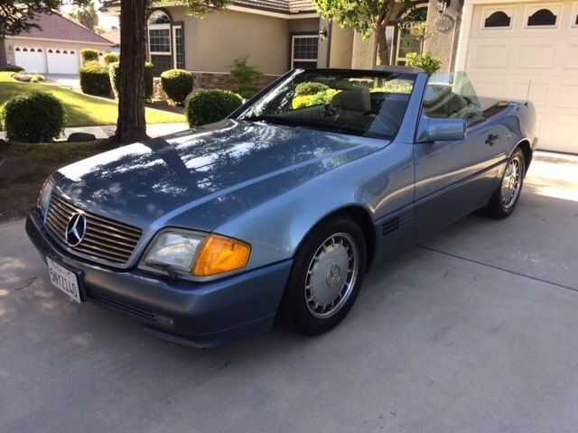 1990 mercedes 300sl all original oem convertible. Black Bedroom Furniture Sets. Home Design Ideas