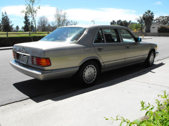 1990 mercedes 420 sel classic mercedes benz 400 series for Mercedes benz 400 se