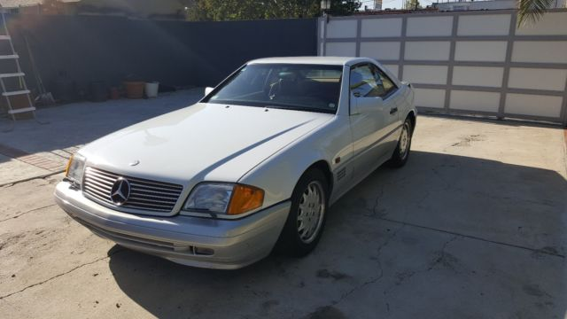1990 mercedes benz 500sl 42k miles classic mercedes benz. Black Bedroom Furniture Sets. Home Design Ideas