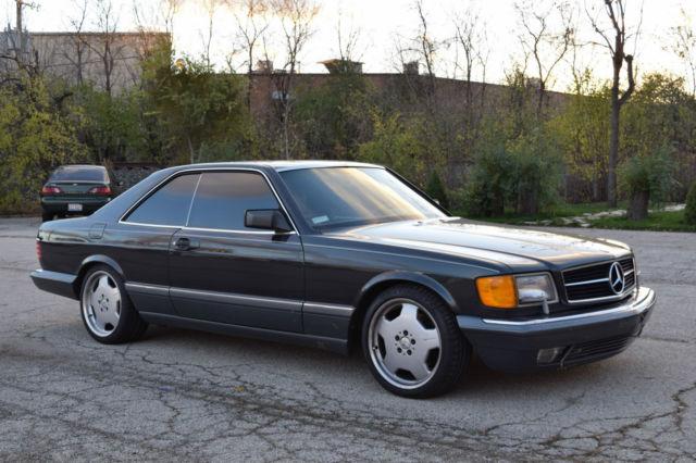 1990 mercedes benz 560sec salvage rebuilt classic for Mercedes benz auto wreckers