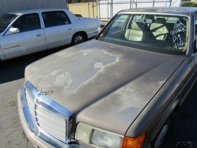 1990 Mercedes Benz 560sel 4 Dr Used 5 6l V8 16v Automatic