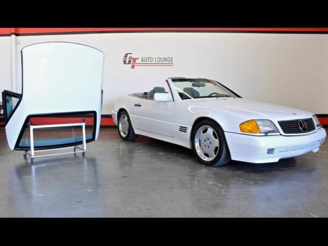 1990 mercedes benz sl500 convertible 1 owner hardtop for Used mercedes benz convertible for sale by owner