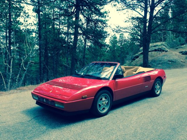 1990 ferrari mondial t reviews used 1990 ferrari mondial for sale in west sussex pistonheads. Black Bedroom Furniture Sets. Home Design Ideas