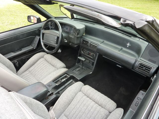 1990 Mustang Gt Convertible Automatic A C Brand New Interior Runs Great Classic Ford