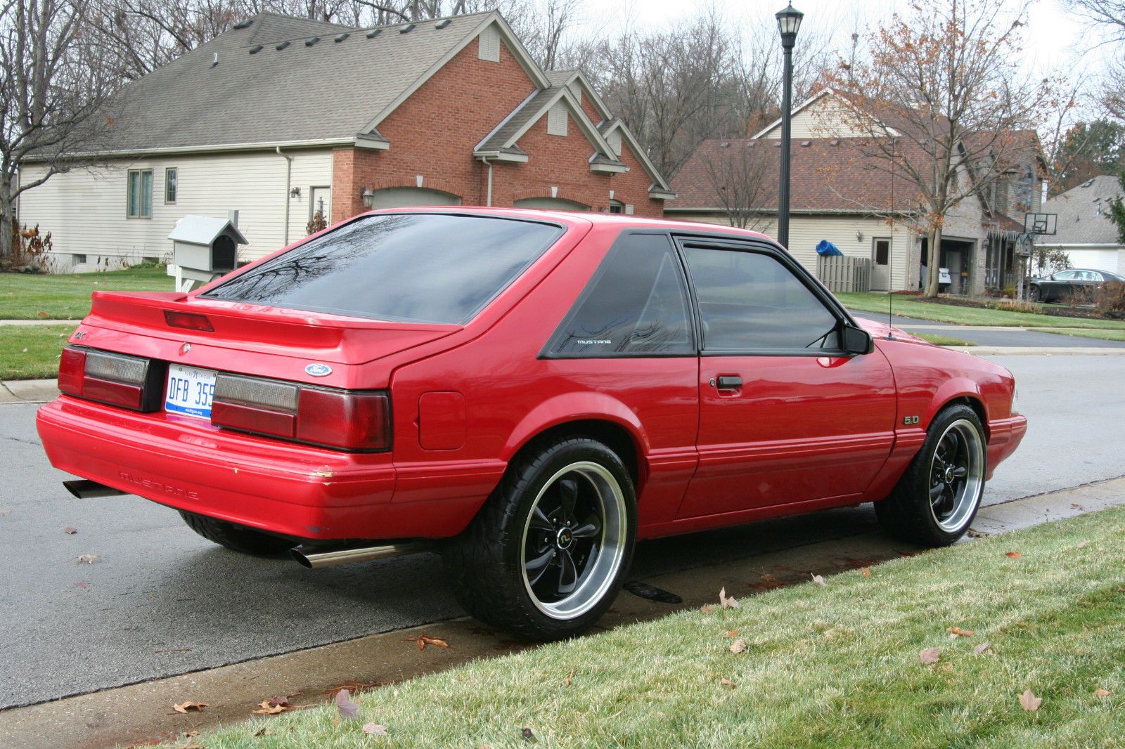 1990 MUSTANG LX 347 W 5 SP VORTEC BLW 509HP AT TIRE