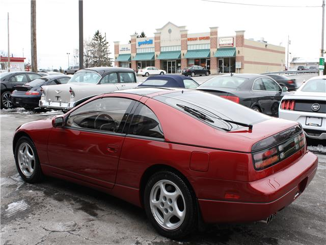 1990 nissan 300zx gs 20 500 miles cherry red pearl v6 cylinder engine 3 0l 181 classic nissan. Black Bedroom Furniture Sets. Home Design Ideas