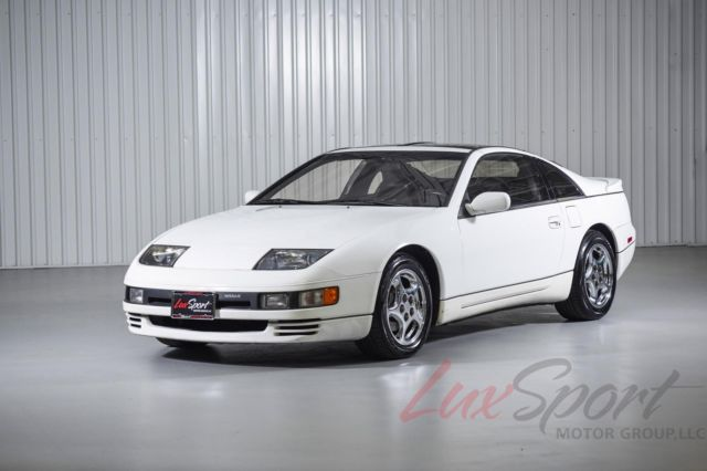 1990 nissan 300zx twin turbo coupe pearl white black 49 000 1 owner all original classic. Black Bedroom Furniture Sets. Home Design Ideas