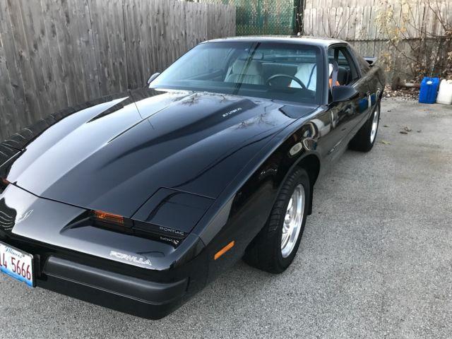Car That Runs On Air >> 1990 Pontiac Firebird Formula 350 WS6 Low Mile Survivor Black Super Condition ! - Classic ...