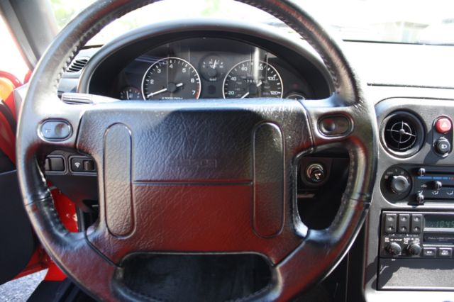 1990 Red Mazda Miata Black Interior Roadster 26 500 Original Miles