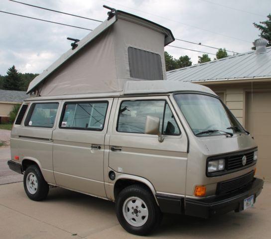 1990 Silver Vw Vanagon Westfalia Bostig Conversion Camper