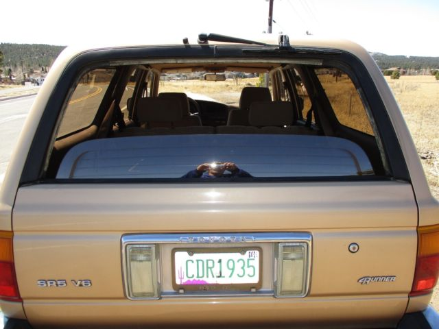 1990 toyota 4runner sr5 4 x 4 automatic only 32 936 for 1990 toyota 4runner rear window motor