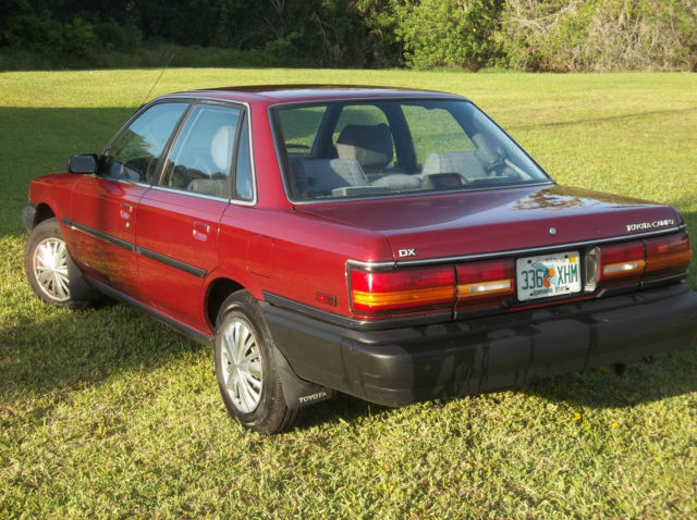 1990 Toyota Camry Deluxe 2 0l 4cylinder Motor With 78k