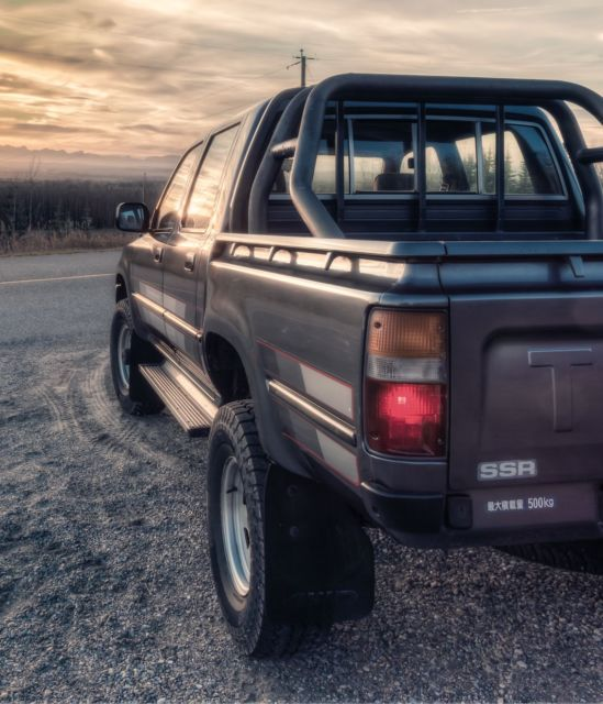 1990 toyota hilux 4wd double cab diesel jdm ln106 pickup classic toyota other 1980 for sale. Black Bedroom Furniture Sets. Home Design Ideas