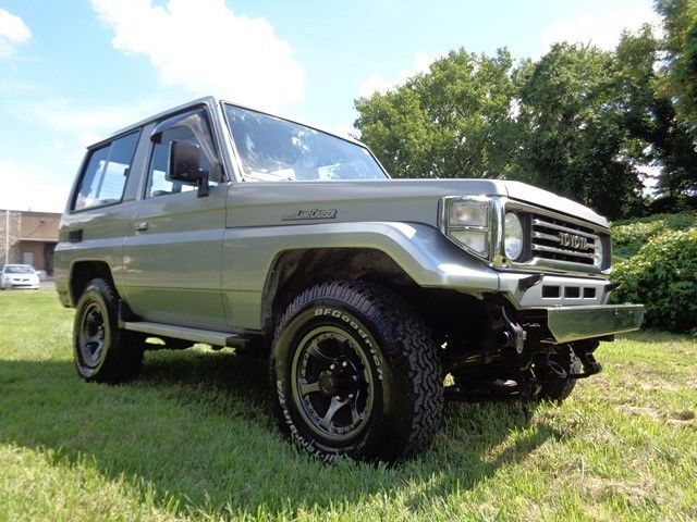 1990 toyota land cruiser 4x4 2 door suv 3 5l diesel low miles perfect classic toyota land. Black Bedroom Furniture Sets. Home Design Ideas