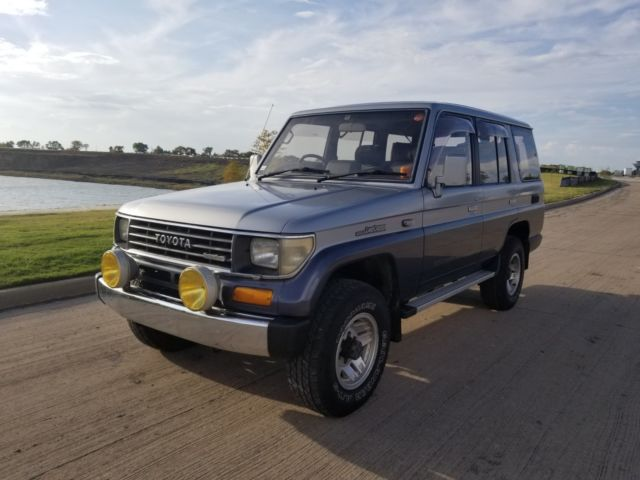 Toyota Rockwall >> 1990 Toyota Land Cruiser Prado Turbo Diesel RHD JDM Titled ...