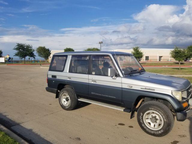 Toyota Of Rockwall >> 1990 Toyota Land Cruiser Prado Turbo Diesel RHD JDM Titled Registered Low price - Classic Toyota ...