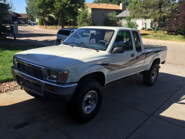 1990 toyota pickup 4x4 extra cab clean classic toyota tacoma 1990 for sale. Black Bedroom Furniture Sets. Home Design Ideas