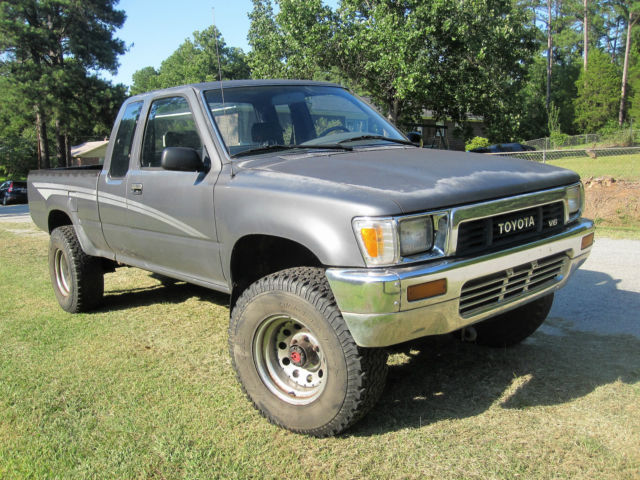 1990 toyota tacoma 4x4 extended cab pickup classic toyota tacoma 1990 for sale. Black Bedroom Furniture Sets. Home Design Ideas