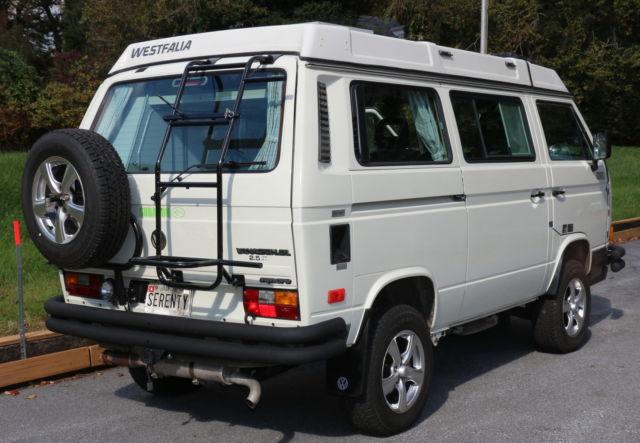 1990 Volkswagen VW Westfalia Pop Top Camper Syncro AWD ...