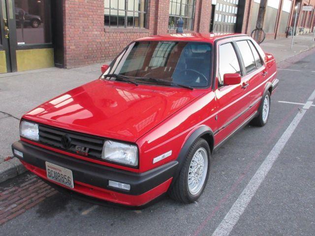 1990 Volkswagon Jetta Gli 16v, vw, gti, 1988,1989,1991,1992, mk2 - Classic Volkswagen Jetta 1990 ...