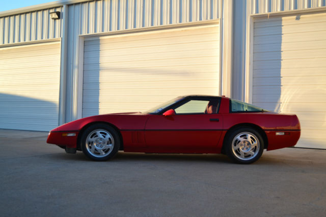 1990 ZR1 Corvette Removable glass top 6 Speed Very Clean 40K