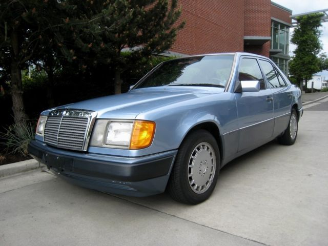 1991 91 mercedes benz mb 300d 300 d 2 5 turbo diesel for Mercedes benz 5 series