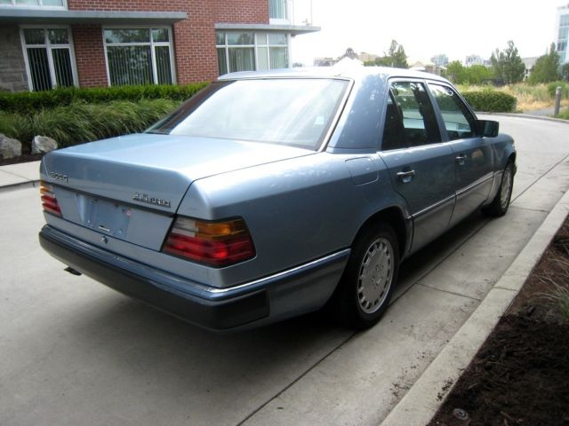1991 91 mercedes benz mb 300d 300 d 2 5 turbo diesel for Mercedes benz 300 diesel