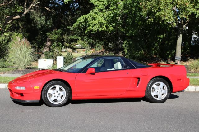 1991 ACURA NSX COUPE 3.0L V6 LOW MILES GARAGE KEPT PRISTINE SUPERCAR NO RESERVE - Classic Acura ...
