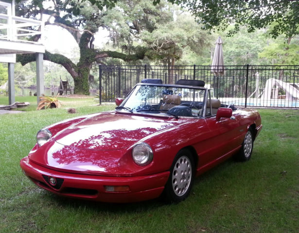 Alfa Romeo Spider Veloce Convertible Restored Wonderful Car - 1991 alfa romeo spider for sale