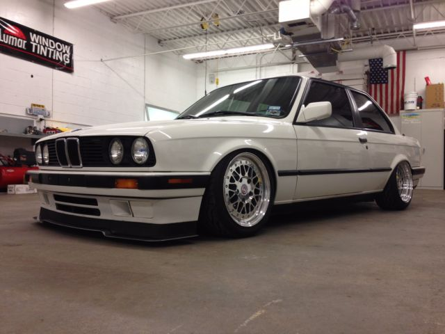 1991 bmw 318is e30 custom air ride 3 piece hre wheels. Black Bedroom Furniture Sets. Home Design Ideas